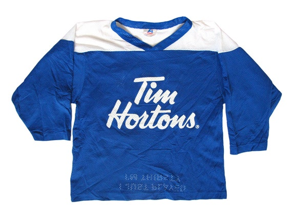 Tim Hortons TimBits Blue & White Hockey Jersey