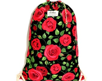 Ochos | Red Roses Design Sack Bag