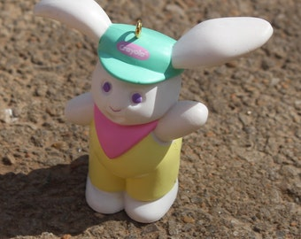 Crayola Ornament 1989 Easter Bunny