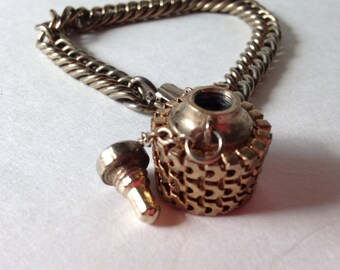 Vintage Mesh Perfume Bracelet