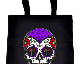 Tote Bag - Calavera Sugar Skull by VIDA VIDA