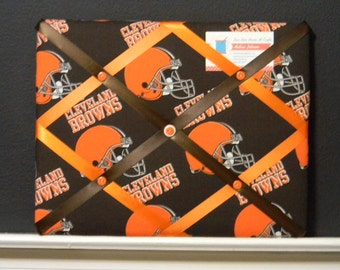 11 x 14 Cleveland Browns Memory Board