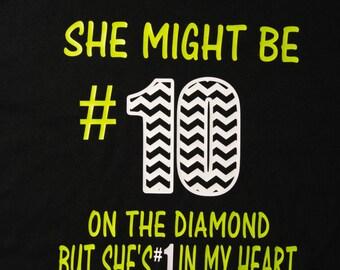 Softball Moms Shirt with monogram