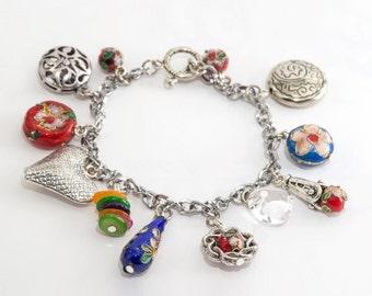China Bling Charm Bracelet