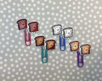 Day Planner Paper Clips • Kawaii Specialty Bread • LIMITED RUN
