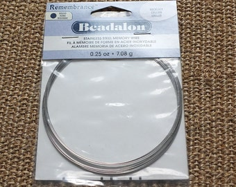 Beadalon necklace memory wire