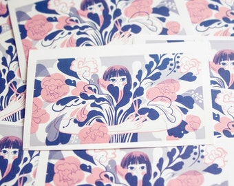 Flower Immensity Sticker