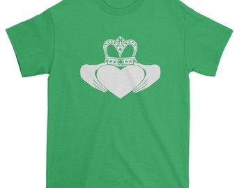 FerociTees  St Patricks Day Irish Claddagh Men's T-Shirt