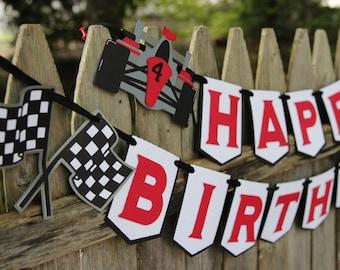 Race Car Birthday Package