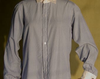 Men's vintage Saks Fifth Avenue dress shirt