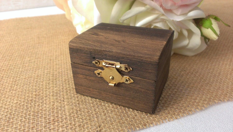 wedding ring box wooden ring box