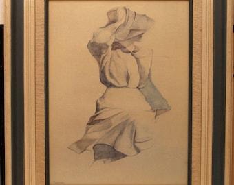 "CHRISTINE ROSAMOND, ""Wind Blown"", Art Print For Sale, Christine Rosamond Print"