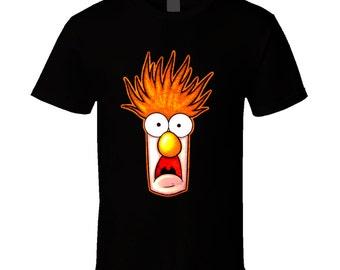 Beaker The Muppets Big Face T Shirt