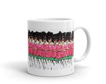 Those pink and green ladies Mug