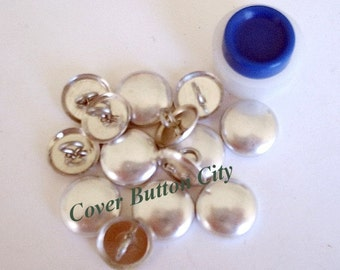 Cover Button Starter Kit  Size 20 (1/2 inch) -  Wire Backs