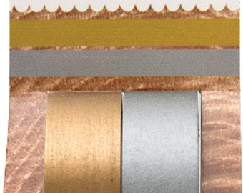 Masking tape / decorative tape / Washi tape gold silver