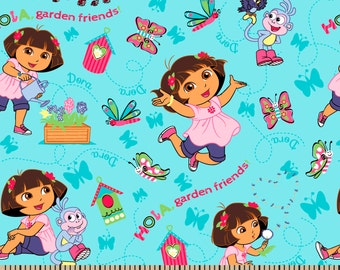 Dora The  Explorer Hola from Springs Creatives