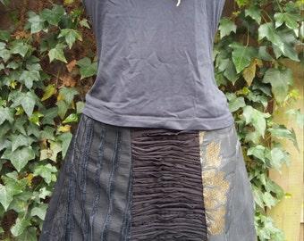 6-Courses skirt black