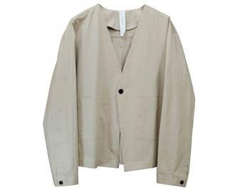 Origimi Collarless Jacket