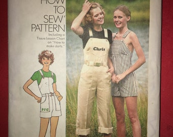 Vintage Simplicity 7329 Sewing Pattern Size 12, printed 1976