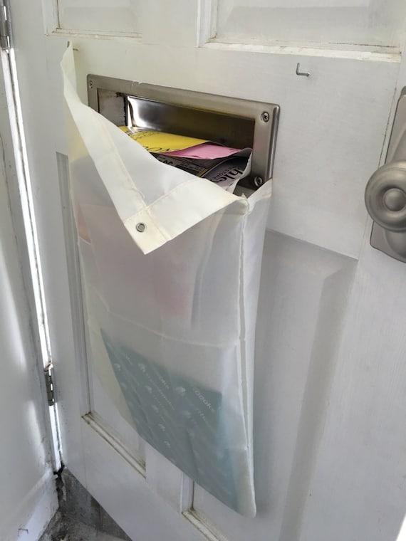 The Original Mail Catcher Bag Sack Front Garage Door Slot