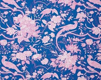50090- 1/2 yard of  Jennifer Paganelli -Hotel Fredriksted Sophia in Blue
