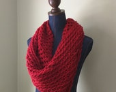Red Infinity Scarf / Croc...