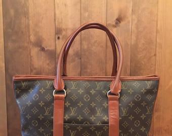 Vintage LOUIS VUITTON Sac Weekend PM Tote Bag