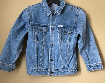 Vintage Kids Guess Denim Jacket 6-7/XL