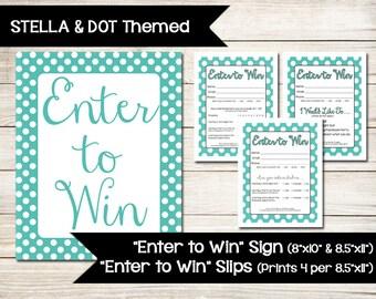 Door Prize Lead Slip Vendor Event Color Street Nails