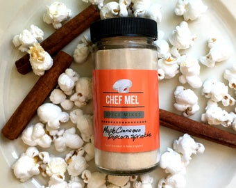 Sweet and Salty Maple Popcorn Seasoning - Gourmet Popcorn - Flavored Popcorn - Stocking Stuffer - Hostess Gift - Corporate Gift - Natural