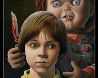 Print: Chucky & Andy