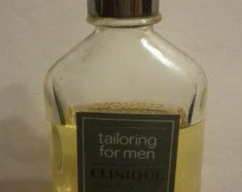 Tailoring For Men, Clinique,Pure Cologne, Splash Bottle, Citrusy, Gif for Him, Father's Day