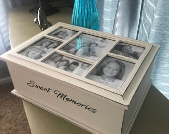 Painted Photo Box