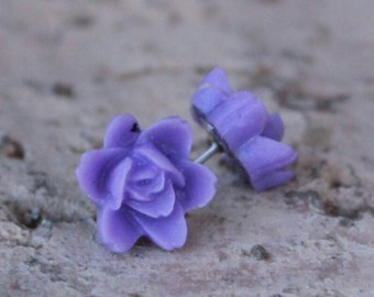 ORCHID SERIES - Flower Earrings - Orchid Flowers . . . Buy 3 Get 1 FREE . . . Bridal Jewelry, Orchid Earrings, Bridesmaids Gifts