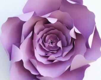 DIY Wedding Flowers Paper Flowers, DIY Paper Flowers, Flower Template Flower Tutorial, Flower Backdrop
