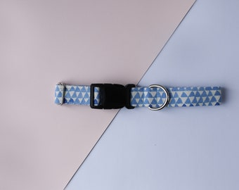 The Adventure Seeker Dog Collar, Geometric Dog Collar, Summer Dog Collar