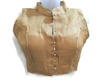 Blouse for women cut sleeves blouse 1960s blouse bohemian blouse plus size blouse winter blouse boho blouse-FREE SIZE-IDB34