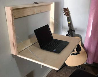 murphy desk - (folding desk) - unfinished