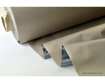 fabric by insulating thermal and sound beige