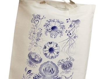 Plankton & Algae Group 04 Eco Friendly Canvas Tote Bag (isl083)