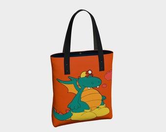 Simple or Urban tote bags: the nice dragon, Pirex.