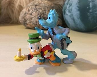 Walt Disney Ebenezer Scrooge Jacob Marley Vintage Toy Applause China