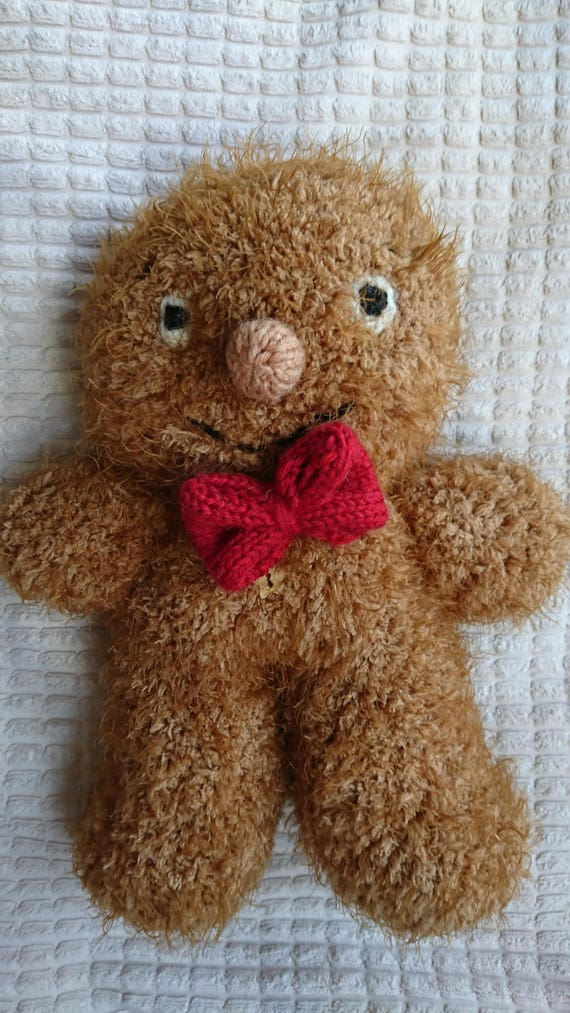 George The Gingerbread Man Pdf Knitting Pattern