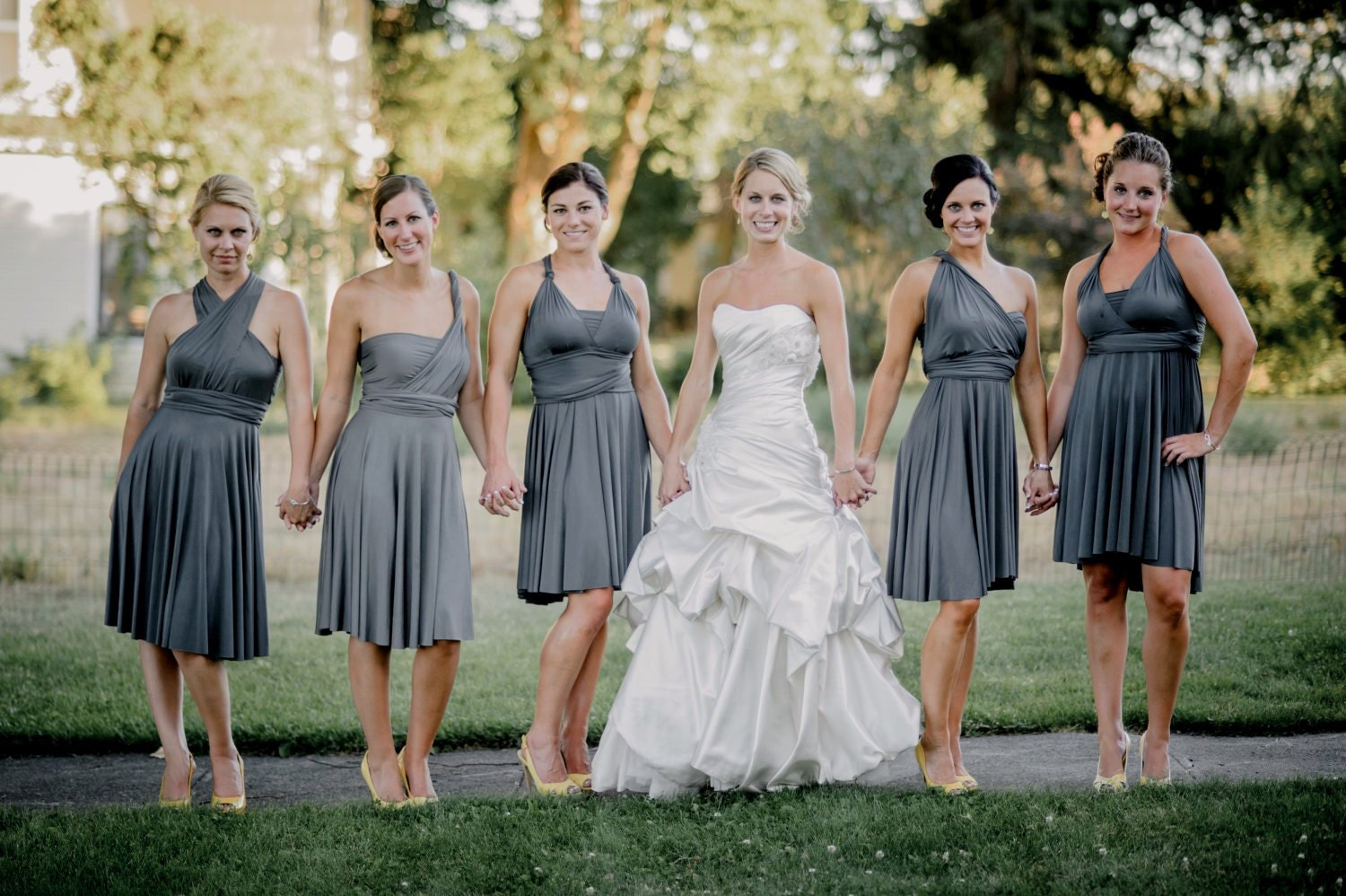 Infinity Bridesmaid Dress Versatile Convertible Style