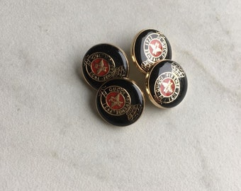 Gucci buttons - listing for 4 buttons