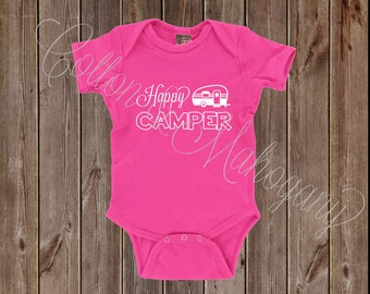 Happy Camper Infant Onesie