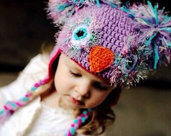 Whimsical Owl Hat