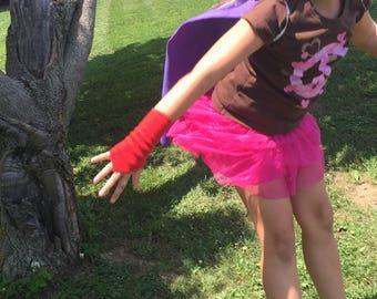 Superhero cuffs, child size