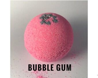 Bubble Gum Bathbomb - Pink Bathbomb - Handmade Bath bomb - Bath Fizzy - Gift for her - Gift for best friend - Bubble Gum